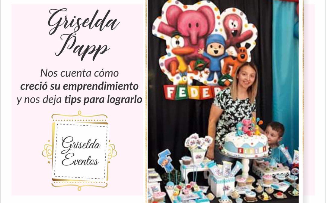 Griselda, feliz con lo que hace y tratando de crecer todos los días