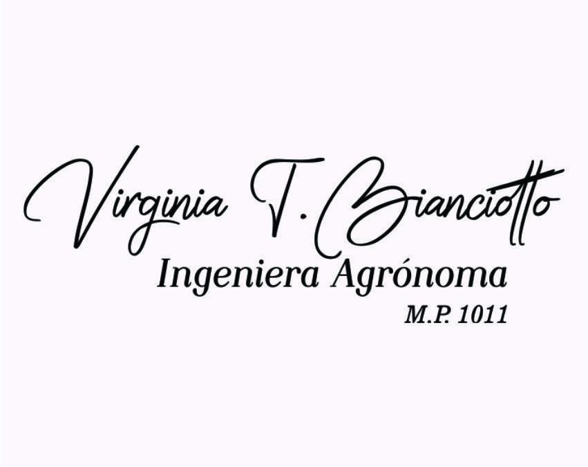 Virginia Bianciotto, ingeniera agrónoma