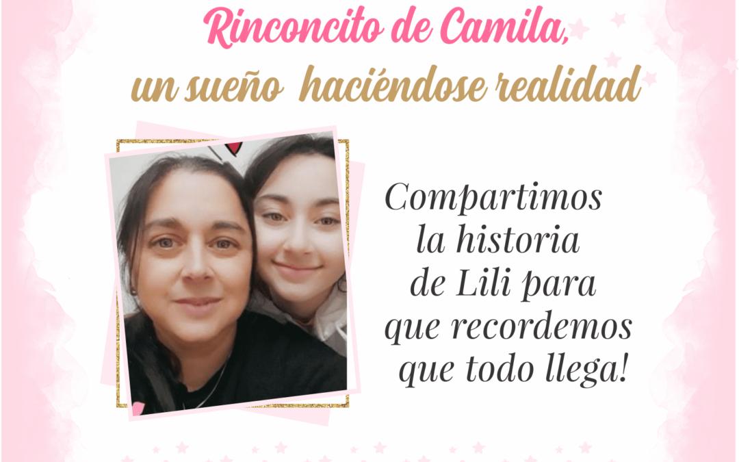 El Rinconcito de Camila, un sueño que se está haciendo realidad
