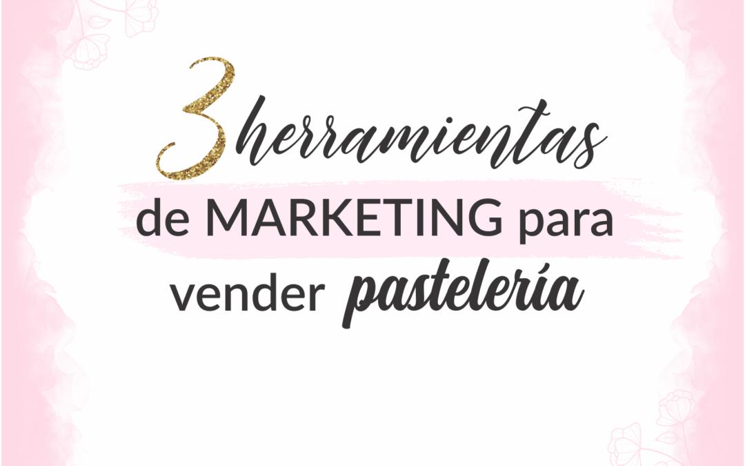 Herramientas de marketing para vender pastelería